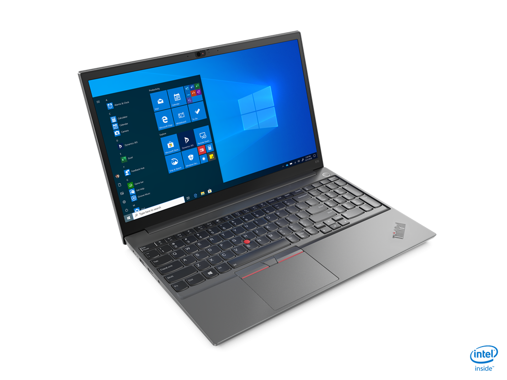 "Laptop Lenovo ThinkPad E15 Gen 2 (Intel), 15.6"" FHD (1920x1080) IPS 250nits Anti-glare, Intel Core i3-1115G4 (2C / 4T, 3.0 / 4.1GHz, 6MB), Video Integrated Intel UHD Graphics, RAM 1x 8GB SO-DIMM DDR4-3200, SSD 256GB SSD M.2 2242 PCIe 3.0x4 NVMe, Optical: no ODD, No card reader, Speakers: Stereo - imaginea 2"