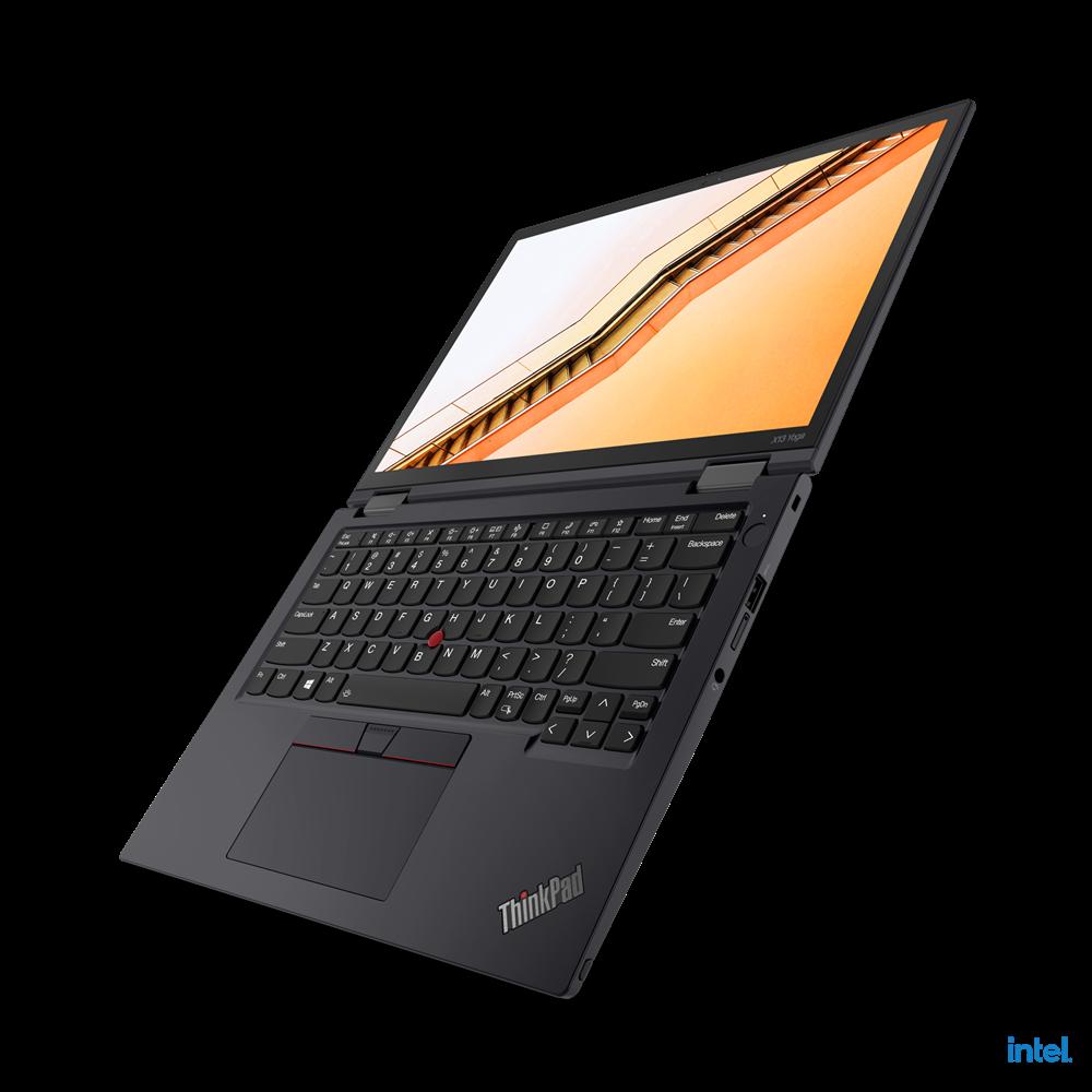 "Laptop Lenovo ThinkPad X13 Yoga Gen 2 (Intel), 13.3"" WQXGA (2560x1600) Low Power IPS 400nits AR (anti-reflection) / AS (anti-smudge), Touch, Lenovo Integrated Pen (Garaged), Intel Core i7-1165G7 (4C / 8T, 2.8 / 4.7GHz, 12MB), Video Integrated Intel Iris Xe Graphics, RAM 16GB Soldered LPDDR4x-4266 - imaginea 8"