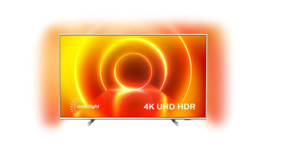 Televizor Philips 75PUS7855/12, 189 cm, Smart, 4K Ultra HD, LED, HDR, Saphi, YouTube, Netflix, Asistent vocal inteligent, Screen Mirroring, Inregistrare USB, Android, iOS, Quad core, 3840 x 2160, HLG, Dolby Vision, HDR 10+, P5 Perfect Picture Engine, DVB-C, DVB-S, DVB-S2, DVB-T, DVB-T2, Dolby Atmos - imaginea 1