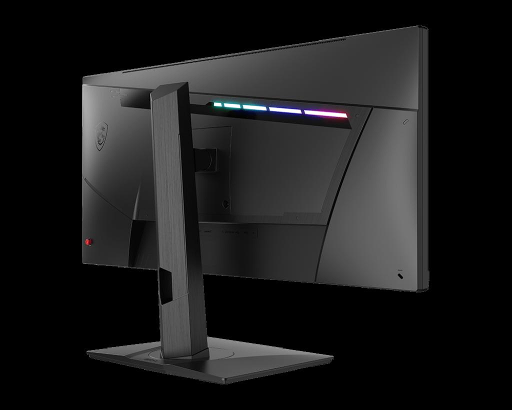 "Monitor Gaming 29.5"" MSI Optix MAG301RF, Flat, LED, Panel Type Rapid IPS, WFHD 2560 x 1080, 200Hz, 21:9, Anti-glare, Display colors 1.07B (8bits + FRC), G-sync Compatible, Frameless design, 1ms GTG, 300 cd/m², 1000:1 static / 100000000:1 dinamic, 178° (H) / 178° (V), Porturi: 1x Display Port (1.2a) - imaginea 4"