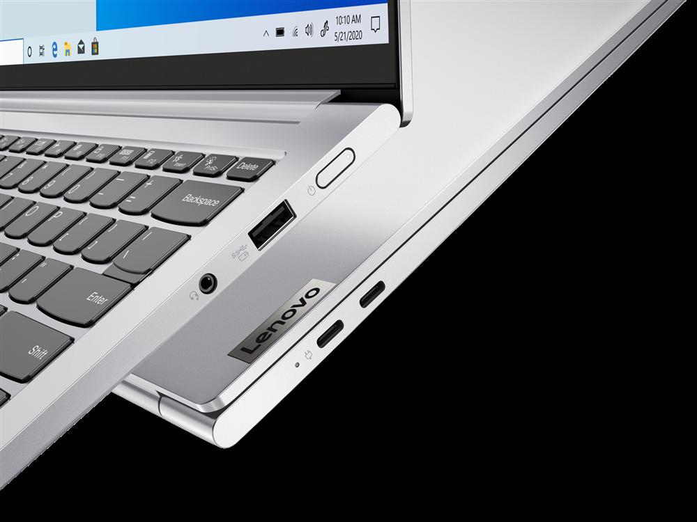 "Laptop Lenovo Yoga Slim 7 Pro 14ACH5, 14"" 2.2K (2240x1400) IPS 300nits Anti-glare, 60Hz, 100% sRGB, Dolby Vision, AMD Ryzen 5 5600H (6C / 12T, 3.3 / 4.2GHz, 3MB L2 / 16MB L3), video AMD Radeon Graphics, RAM 16GB Soldered DDR4-3200, SSD 1TB SSD M.2 2280 PCIe 3.0x4 NVMe, no ODD, No Card reader, Stereo - imaginea 2"