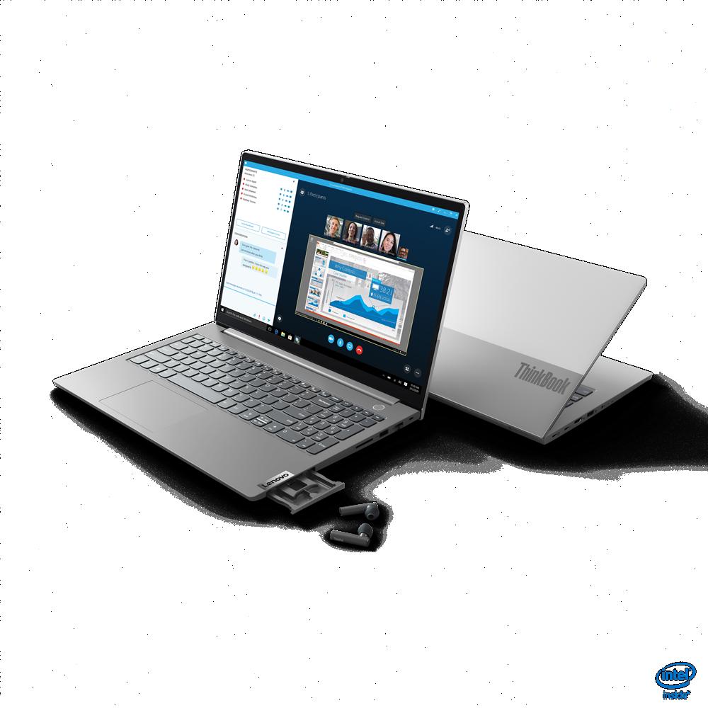 "Laptop Lenovo ThinkBook 15 G2 ITL, 15.6"" FHD (1920x1080) i3-1115G4 8GB 256GB 1YD DOS - imaginea 7"