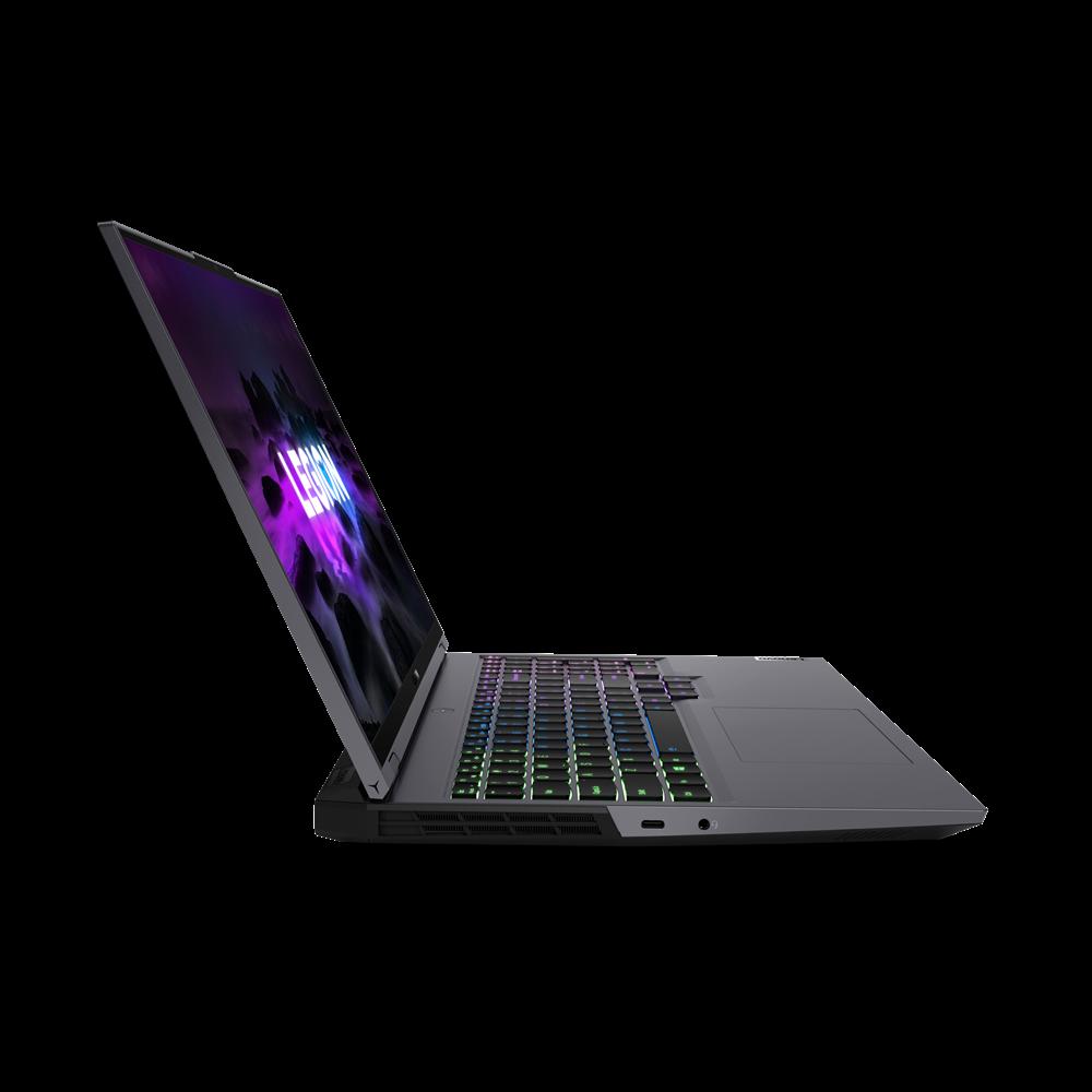 "Laptop Lenovo Gaming Legion 5 Pro 16ACH6, 16"" WQXGA (2560x1600) IPS 500nits Anti-glare, 165Hz, 100% sRGB, Dolby Vision, HDR 400, Free-Sync, G-Sync, DC dimmer, AMD Ryzen 5 5600H (6C / 12T, 3.3 / 4.2GHz, 3MB L2 / 16MB L3), video NVIDIA GeForce RTX 3050 Ti 4GB GDDR6, Boost Clock 1485 / 1695MHz, TGP - imaginea 6"