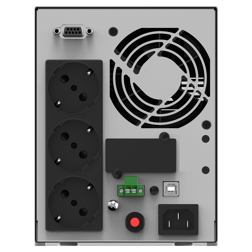 UPS nJoy Echo Pro 1000, 1000 VA/800 W, On-line, LED - imaginea 3