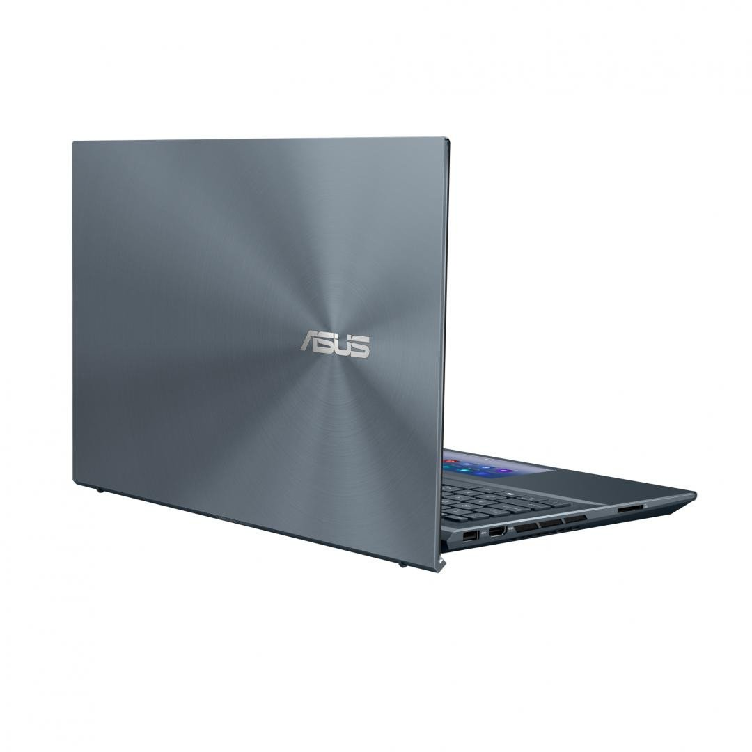 Ultrabook ASUS Zenbook 15 Touch UX535LI-H2172R, 15.6-inch, Touch screen, 4K UHD (3840 x 2160) 16:9, OLED, Glossy display, Intel® Core™ i7-10870H Processor 2.2 GHz (16M Cache, up to 5.0 GHz, 8 cores), NVIDIA® GeForce® GTX 1650 Ti, 16GB DDR4 on board, 1TB M.2 NVMe™ PCIe® 3.0 Performance SSD, Wi-Fi - imaginea 1
