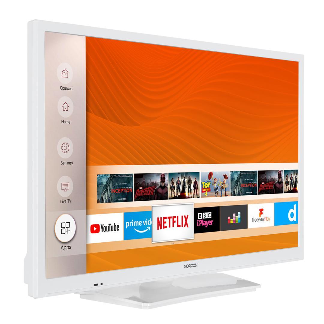 "LED TV HORIZON SMART 24HL6131H/B, 24"" Edge LED, HD Ready (720p), Digital TV-Tuner DVB-S2/T2/C, CME 200Hz, HOS 3.0 SmartTV-UI (WiFi built-in) +Netflix +AmazonAlexa +Youtube, 1xLAN (RJ45), Wireless Display, DLNA 1.5, Contrast 3000:1, 220 cd/m2, 1xCI+, 2xHDMI (v1.4), 1xUSB, 1xD-Sub (15-PIN), USB Player - imaginea 3"