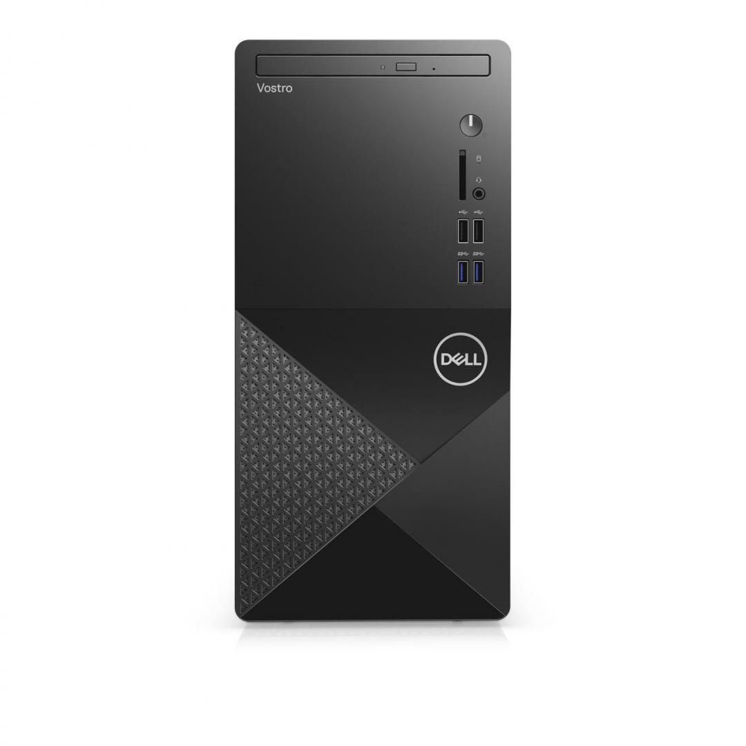 Desktop Dell Vostro 3888 Tower, i5-10400, 8GB, 512GB SSD, Ubuntu - imaginea 1