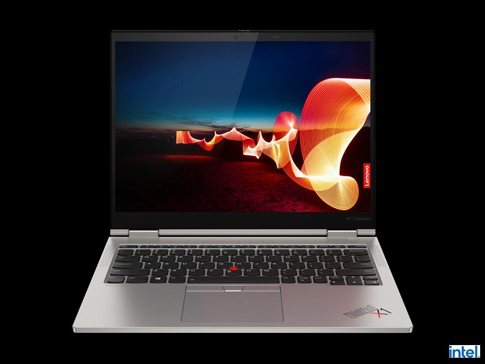 "Laptop Lenovo ThinkPad X1 Titanium Yoga Gen 1, 13.5"" QHD (2256x1504) IPS 450nits AR (anti-reflection) / AS (anti-smudge), Touch, Intel Core i7- 1160G7 (4C / 8T, 2.1 / 4.4GHz, 12MB), Video Integrated Intel Iris Xe Graphics, RAM 16GB Soldered LPDDR4x-4266, POP Memory, SSD 1TB SSD M.2 2242 PCIe 3.0x4 - imaginea 18"