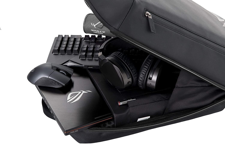 Rucsac Notebook Asus Ranger BP2500 ROG, 15.6, negru - imaginea 5