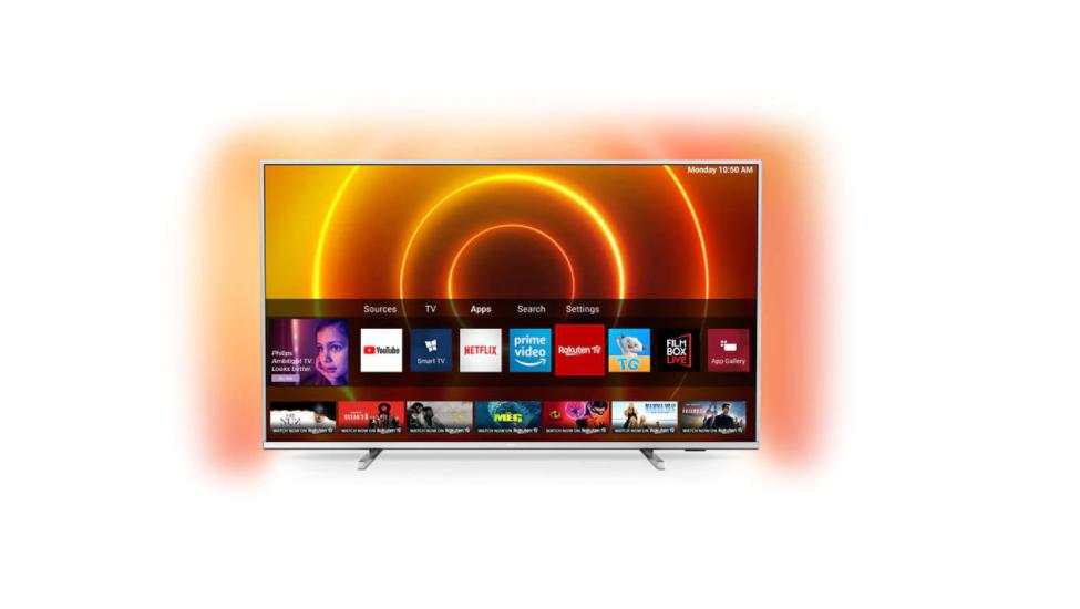 Televizor, PHILIPS, 55PUS7855/12, 4K UHD LED Smart TV, Ambilight, 55 inches, 4K Ultra HD LED, 139 cm, 3840 x 2160, 16: 9, Ultra resolution, Dolby Vision, HDR10 +, P5 Perfect Picture Engine, SimplyShare, Screen mirroring, Quad core, DVB-T / T2 / T2-HD / C / S / S2, 3*HDMI, 2*USB, Integrated WiFi - imaginea 1
