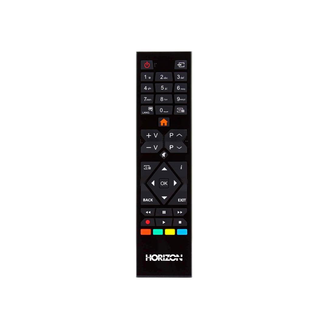 "LED TV HORIZON 32HL6300H/B, 32"" D-LED, HD Ready (720p), Digital TV-Tuner DVB-S2/T2/C, CME 100Hz, Contrast 4000:1, 300 cd/m2, 1xCI+, 2xHDMI (v1.4), 1xD-Sub (15-PIN), USB Player (AVI, MKV, H.265/HEVC, JPEG), Hotel TV Mode (Passive), VESA 75 x 75 mm   M4, Double Neck-Foot Stand, Very Narrow Design - imaginea 7"