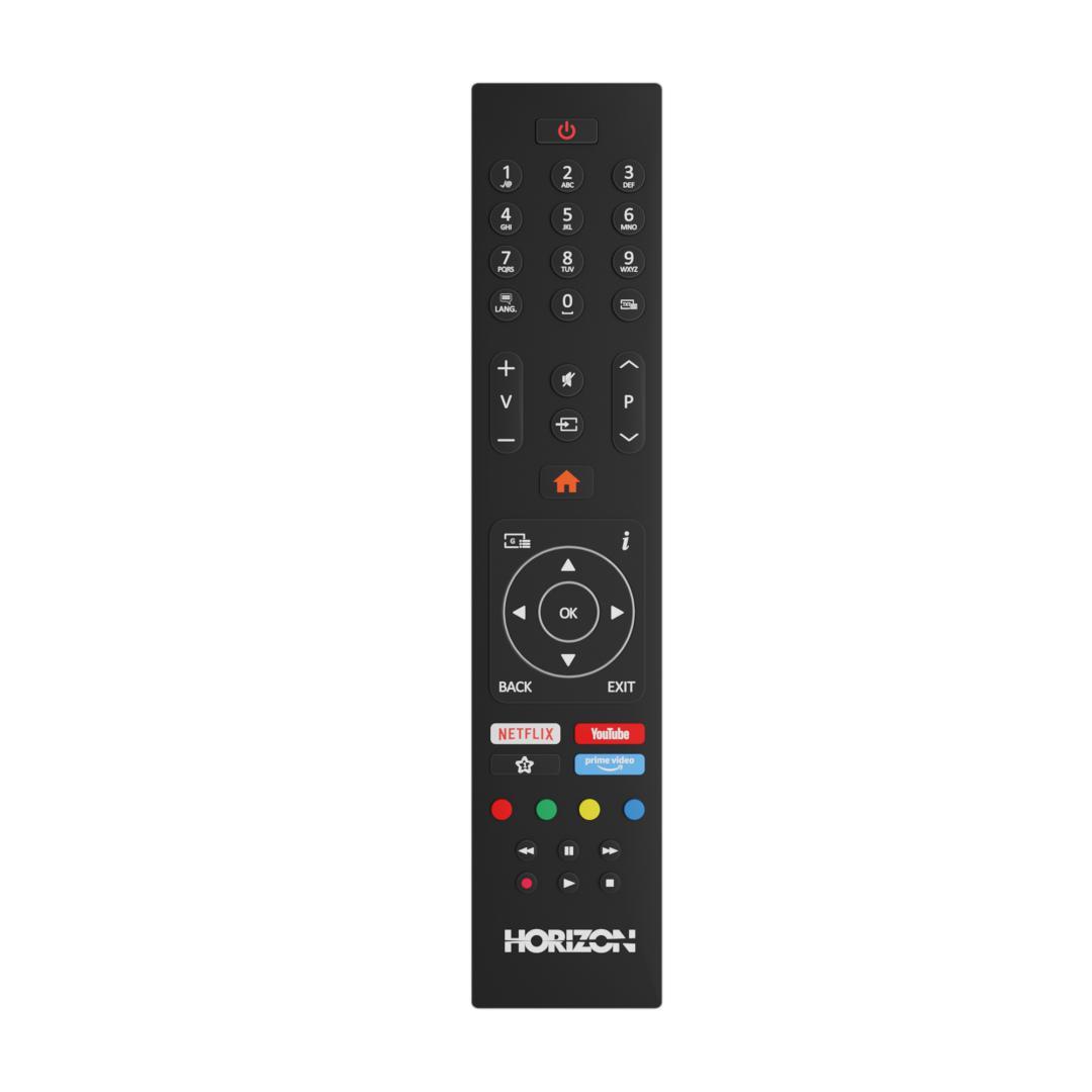 "LED TV HORIZON SMART 24HL6130H/B, 24"" Edge LED, HD Ready (720p), Digital TV-Tuner DVB-S2/T2/C, CME 200Hz, HOS 3.0 SmartTV-UI (WiFi built-in) +Netflix +AmazonAlexa +Youtube, 1xLAN (RJ45), Wireless Display, DLNA 1.5, Contrast 3000:1, 220 cd/m2, 1xCI+, 2xHDMI (v1.4), 1xUSB, 1xD-Sub (15-PIN), USB Player - imaginea 7"