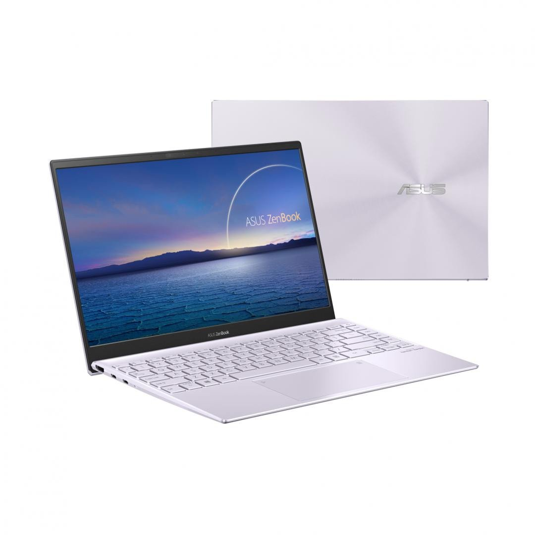 UltraBook ASUS ZenBook  14 UX425EA-KI468T, 14.0-inch, FHD (1920 x 1080) 16:9, Anti-glare display, IPS-level Panel, Intel® Core™ i5-1135G7 Processor 2.4 GHz (8M Cache, up to 4.2 GHz, 4 cores), Intel Iris Xᵉ Graphics (available for 11th Gen Intel® Core™ i5/i7 with dual channel memory), 8GB LPDDR4X on - imaginea 4