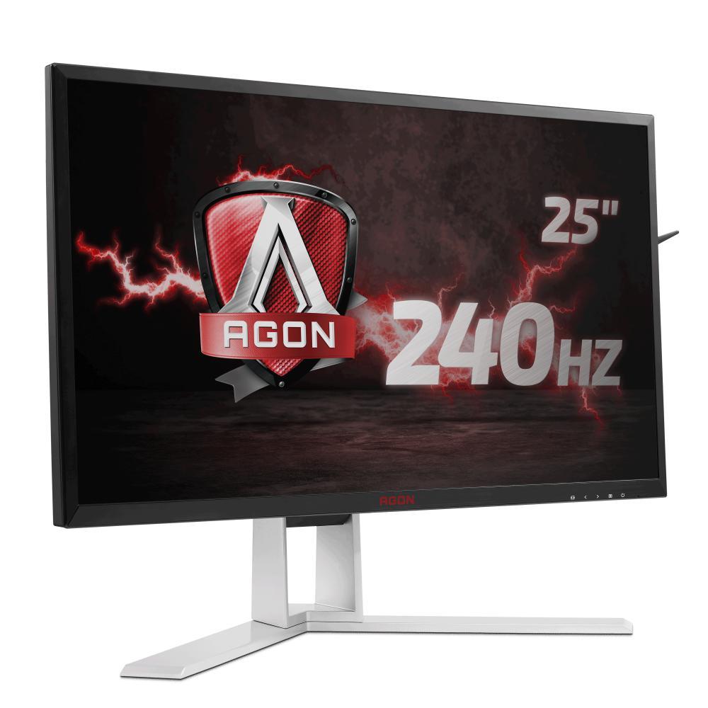 "Monitor 24.5"" AOC AG251FZ, FHD 1920*1080, Gaming, TN, 16:9, 240 Hz,WLED, 1 ms, 400 cd/m2, 50M:1/ 100 - imaginea 1"