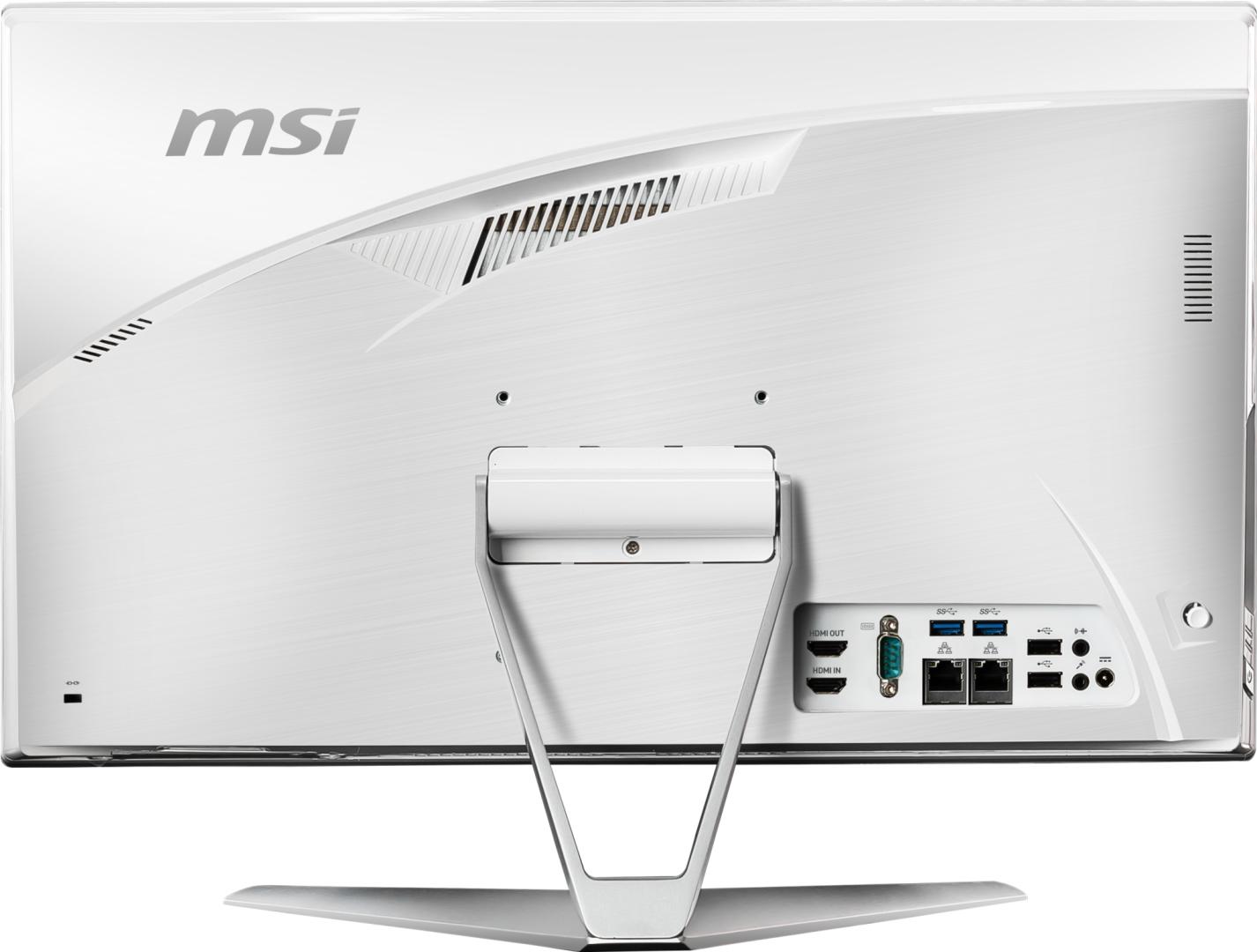 "All In One MSI 21.5"" Touch FHD I3-10100 8GB 256GB + 1TB UMA W10H - imaginea 6"