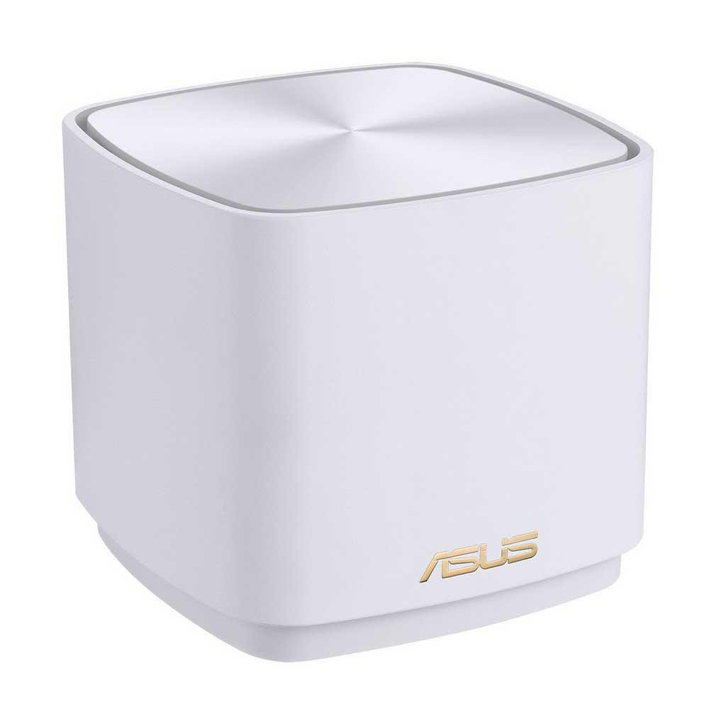 Asus dual-band large home Mesh ZENwifi system, XD4 1 pack; white , 256 MB Flash, 256 MB RAM ; Network Standard IEEE 802.11a, IEEE 802.11b, IEEE 802.11g, IEEE 802.11n, IEEE 802.11ac, IEEE 802.11ax, IPv4, IPv6, Internal dual-band antenna x 2, MIMO technology 2.4 GHz 2 x 2, 5 GHz 2 x 2, RJ45 for 1000 - imaginea 1