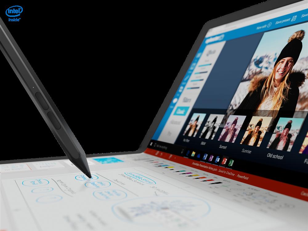"Laptop Lenovo X1 Fold G1 R, 13.3"" QXGA (2048x1536) i5-L16G7 8GB 256GB 3YD W10P - imaginea 4"