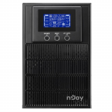 UPS nJoy Aten PRO 1000, 1000VA/800W, On-line (double convension UPS), LCD Display, 3 Prize Schuko cu Protectie, Tower, Smart SNMP & USB & RS- 232, Efficiency up to 88%, Software management - imaginea 2
