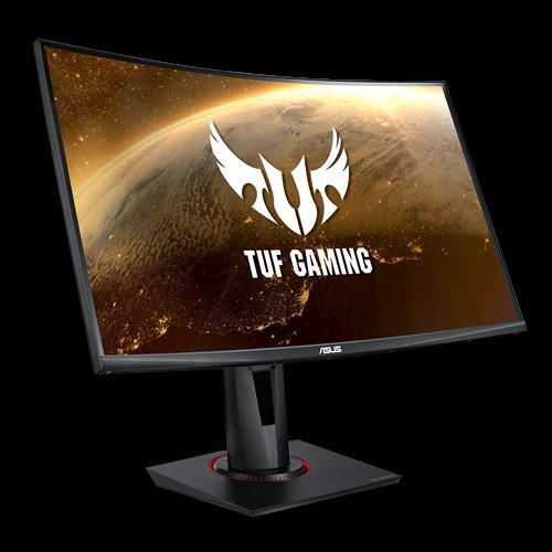 "Monitor 27"" ASUS VG27WQ, QHD 2560*1440, Gaming, VA, curbat 1500R, 16:9, 400 cd/mp, 3000:1, 178/178, 1 ms MPRT, 165 Hz, flicker free, Low Blue Light, FreeSync technology supported, Shadow Boost, DisplayHDR 400, boxe 2*2W, HDMI, DP, Kensington lock, VESA 100x100, culoare negru - imaginea 3"