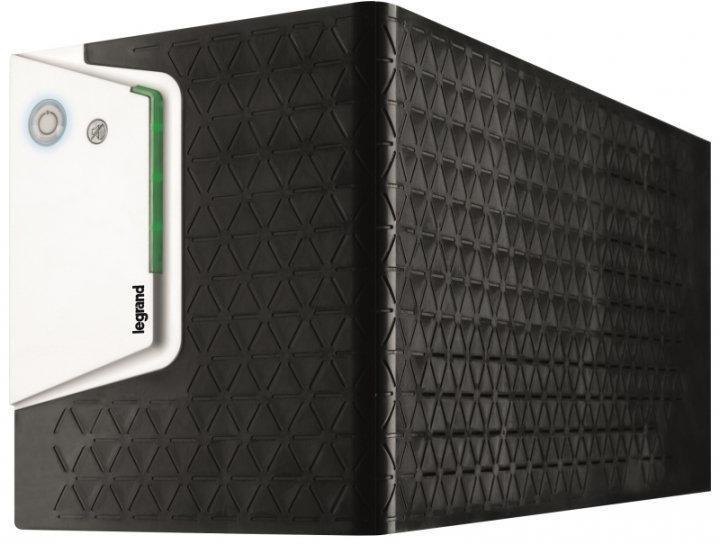 UPS Legrand KEOR SP 1500, 1500VA/ 900W, 6x IEC German standard sockets, USB HID, baterie 2x 12V 9Ah, stabilizator electronic (AVR),230V, forma Tower, tehnologie Line interactiv, dimensiuni 148 x 173 x380mm - imaginea 1