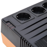UPS nJoy Shed 625, 625VA/375W, 5 Prize Schuko cu protectie din care 4 legate la baterie, Management, Reglaj Automat al Tensiunii, Protectie LAN si Coaxial - imaginea 7
