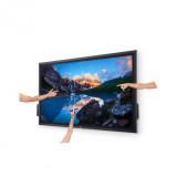 "Monitor Dell 55"", C5522QT, 138.787 cm, Touch, IPS, 4K, UHD, 3840 x 2160 at 60Hz, 16:9 - imaginea 2"