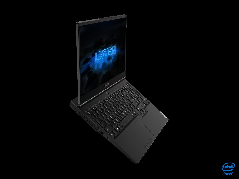 "Laptop Lenovo Gaming Legion 5 15IMH05, 15.6"" FHD (1920x1080) IPS 300nits Anti-glare, 60Hz, 100% sRGB, DC dimmer, Intel Core i5-10300H (4C / 8T, 2.5 / 4.5GHz, 8MB), video NVIDIA GeForce GTX 1650 Ti 4GB GDDR6, RAM 1x 8GB SO-DIMM DDR4-2933, SSD 512GB SSD M.2 2280 PCIe 3.0x4 NVMe + Empty M.2 2280 PCIe - imaginea 2"