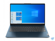 """Laptop Lenovo IdeaPad 5 15ITL05, 15.6"""" FHD (1920x1080) IPS 300nits Anti- glare, 45% NTSC, Intel Core i5-1135G7 (4C / 8T, 2.4 / 4.2GHz, 8MB), video Integrated Intel Iris Xe Graphics, RAM 8GB Soldered DDR4-3200, SSD 512GB SSD M.2 2242 PCIe 3.0x2 NVMe, no ODD, 4-in-1 Card Reader, Stereo speakers, 2W - imaginea 7"""