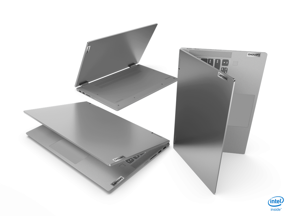 "Laptop Lenovo IdeaPad Flex 514ITL05, 14"" FHD (1920x1080) IPS 250nits Glossy, 45% NTSC, Intel Core i7-1165G7 (4C / 8T, 2.8 / 4.7GHz, 12MB), video Integrated Intel Iris Xe Graphics, RAM 16GB Soldered DDR4-3200, SSD 512GB SSD M.2 2280 PCIe 3.0x4 NVMe, no ODD, 4-in-1 Card Reader, Stereo speakers, 2W x2 - imaginea 14"