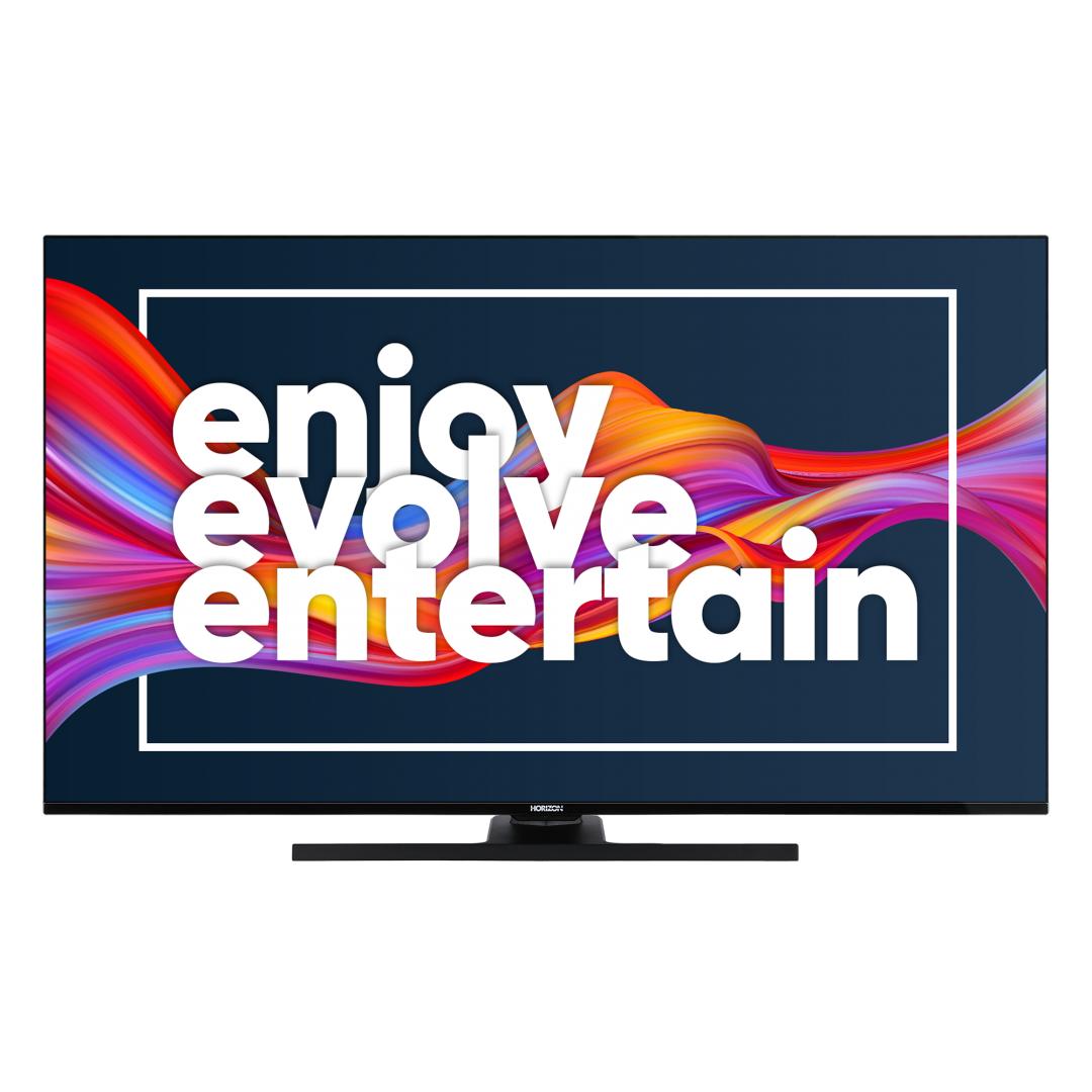 "LED TV HORIZON 4K-SMART 55HL8530U/B, 55"" D-LED, 4K Ultra HD (2160p), HDR10 / HLG + MicroDimming, Digital TV-Tuner DVB-S2/T2/C, CME 400Hz, HOS 3.0 SmartTV-UI (WiFi built-in) +Netflix +AmazonAlexa +Youtube, 1xLAN (RJ45), Wireless Display, DLNA 1.5, Contrast 6000:1, 350 cd/m2, 1xCI+, 3xHDMI, 1xUSB - imaginea 2"