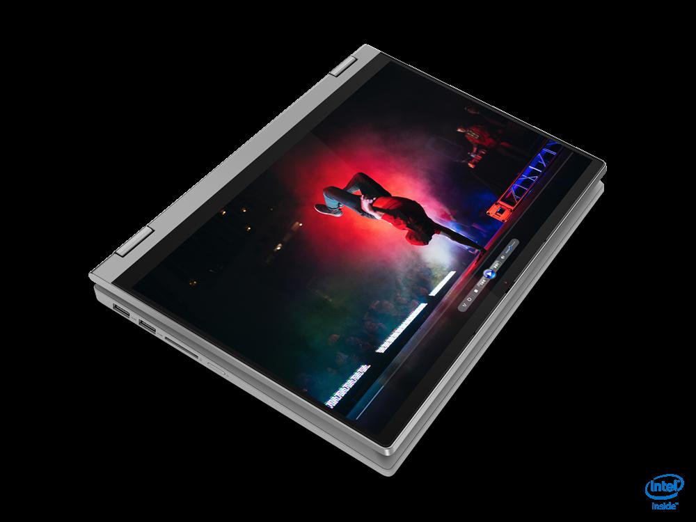 "Laptop Lenovo IdeaPad Flex 514ITL05, 14"" FHD (1920x1080) IPS 250nits Glossy, 45% NTSC, Intel Core i7-1165G7 (4C / 8T, 2.8 / 4.7GHz, 12MB), video Integrated Intel Iris Xe Graphics, RAM 16GB Soldered DDR4-3200, SSD 512GB SSD M.2 2280 PCIe 3.0x4 NVMe, no ODD, 4-in-1 Card Reader, Stereo speakers, 2W x2 - imaginea 18"