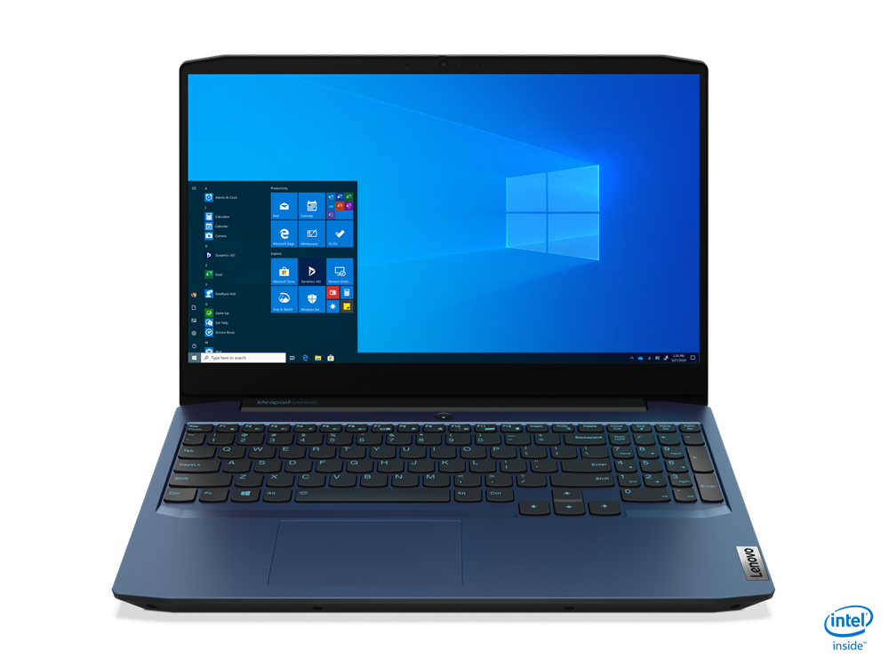 "Laptop Lenovo IdeaPad Gaming 3 15IMH05, 15.6"" FHD (1920x1080) IPS 250nits Anti-glare, 60Hz, Intel Core i7-10750H (6C / 12T, 2.6 / 5.0GHz, 12MB), video NVIDIA GeForce GTX 1650 4GB GDDR6, RAM 2x 4GB SO-DIMM DDR4- 2933, SSD 512GB SSD M.2 2280 PCIe 3.0x4 NVMe, no ODD, No Card reader, Stereo speakers - imaginea 1"