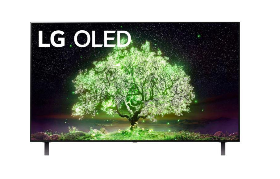 """""""Televizor LG OLED65A13LA, 164 cm, Smart, 4K Ultra HD, OLED, Clasa G, HDR, webOS, YouTube, Netflix, HBOGo, Comenzi vocale, Asistent vocal inteligent, Screen Mirroring, Inregistrare USB, Chromecast incorporat, iOS, Android, Google assistant, ThinQ AI, 3840 x 2160, HDR 10, HLG, Dolby Vision, Pixel - imaginea 1"""