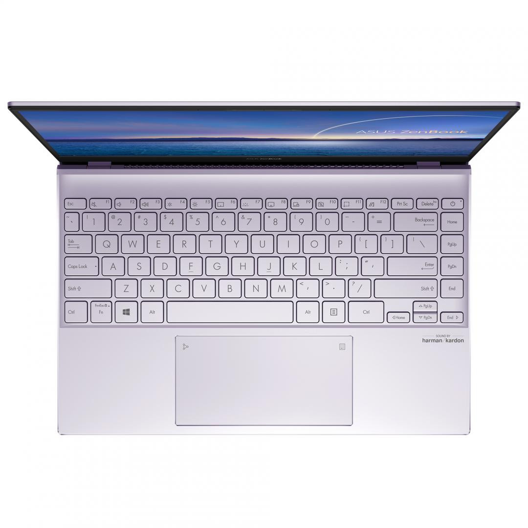 UltraBook ASUS ZenBook UX325EA-KG348T, 13.3-inch, FHD (1920 x 1080) 16:9, OLED, Glossy display, Intel® Core™ i7-1165G7 Processor 2.8 GHz (12M Cache, up to 4.7 GHz, 4 cores), Intel Iris Xᵉ Graphics (available for 11th Gen Intel® Core™ i5/i7 with dual channel memory), 16GB LPDDR4X on board, 512GB M.2 - imaginea 5