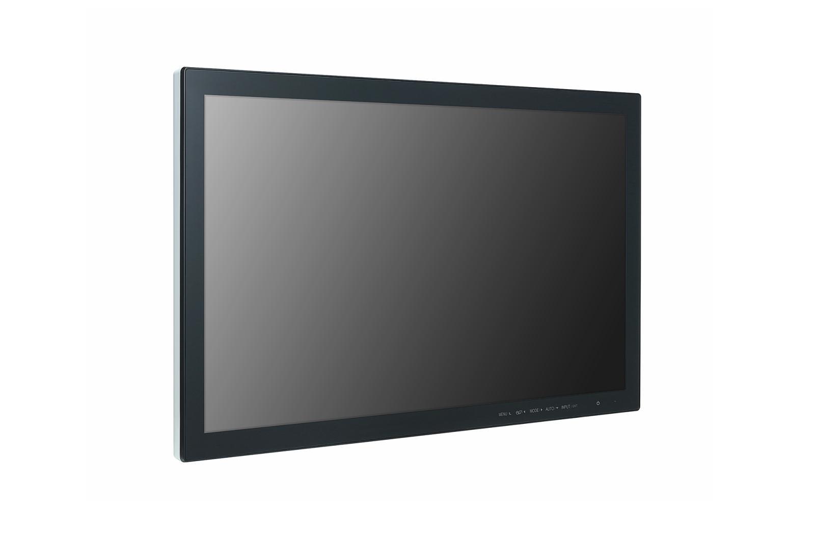 "Ecran Interactiv Monitor Touch LG, 23"" (58cm), FHD, Operare 16/7, Luminozitate 250nit, Timp Raspuns 5ms, [...]; Conectivitate: INPUT: 1xD-SUB, 1xHDMI, 1xUSB; OUTPUT: Headphone; Landscape/Portrait, VESA 75x75, Dimensiuni 555×335×53mm, Greutate 3.9kg, Consum max 25W. - imaginea 1"