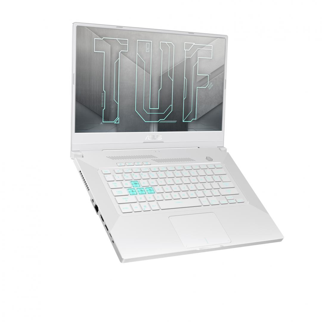 Laptop Gaming ASUSTUF DashF15 FX516PE-HN019, 15.6-inch, FHD (1920 x 1080) 16:9, Anti-glare display, ValueIPS-level, Intel® Core™ i7-11370HProcessor3.3GHz(12MCache,upto4.8 GHz,4cores), NVIDIA®GeForceRTX™3050Ti Laptop GPU, Up to 1585MHz at 60W (75W with Dynamic Boost), Up to 1585MHz - imaginea 6