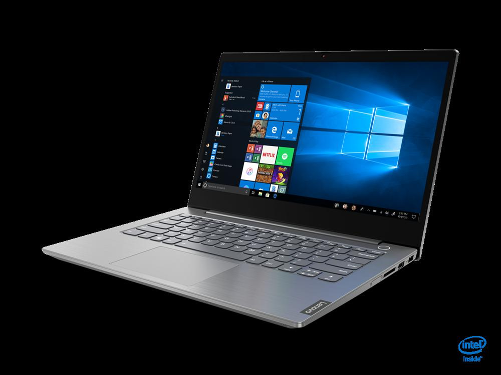 """Laptop ThinkBook 14 IIL, 14"""" FHD (1920x1080) I5-1035G1 8GB 256GB 1YD W10P - imaginea 3"""