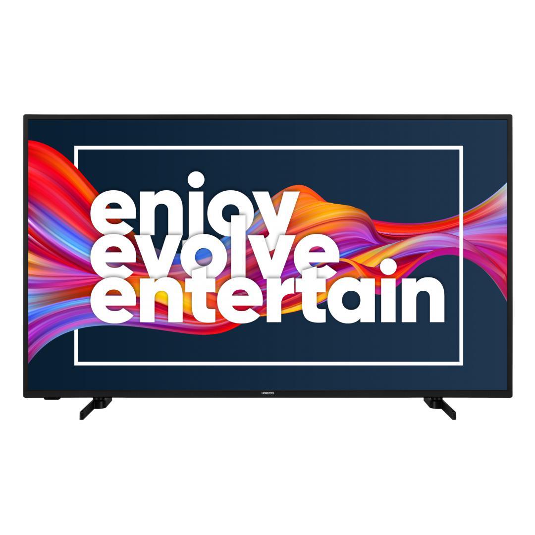 "LED TV HORIZON 4K-SMART 50HL7530U/B, 50"" D-LED, 4K Ultra HD (2160p), HDR10 / HLG + MicroDimming, Digital TV-Tuner DVB-S2/T2/C, CME 400Hz, HOS 3.0 SmartTV-UI (WiFi built-in) +Netflix +AmazonAlexa +Youtube, 1xLAN (RJ45), Wireless Display, DLNA 1.5, Contrast 5000:1, 350 cd/m2, 1xCI+, 3xHDMI, 2xUSB - imaginea 2"