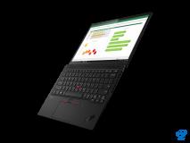 "Laptop Lenovo ThinkPad X1 Nano Gen 1, 13"" 2K (2160x1350) IPS 450nits Anti-glare, Intel Core i5-1130G7 (4C / 8T, 1.8 / 4.0GHz, 8MB), Video Integrated Intel Iris Xe Graphics, RAM 16GB Soldered LPDDR4x-4266, SSD 512GB SSD M.2 2242 PCIe 3.0x4 NVMe, Optical: no ODD, No Card reader, Speakers: 2W x2 - imaginea 6"