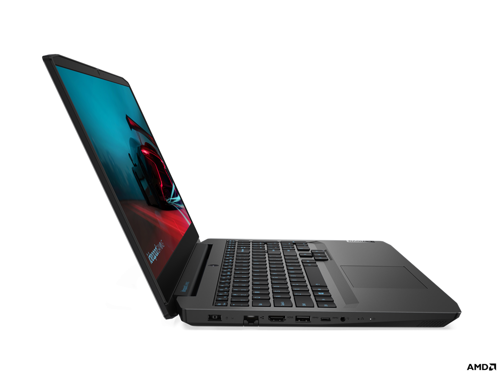 "Laptop Lenovo IdeaPad Gaming 3 15ARH05, 15.6"" FHD (1920x1080) IPS 250nits Anti-glare, 60Hz, AMD Ryzen 7 4800H (8C / 16T, 2.9 / 4.2GHz, 4MB L2 / 8MB L3), video NVIDIA GeForce GTX 1650 4GB GDDR6, RAM 2x 8GB SO- DIMM DDR4-3200, SSD 512GB SSD M.2 2280 PCIe 3.0x4 NVMe, no ODD, No Card reader, Stereo - imaginea 7"