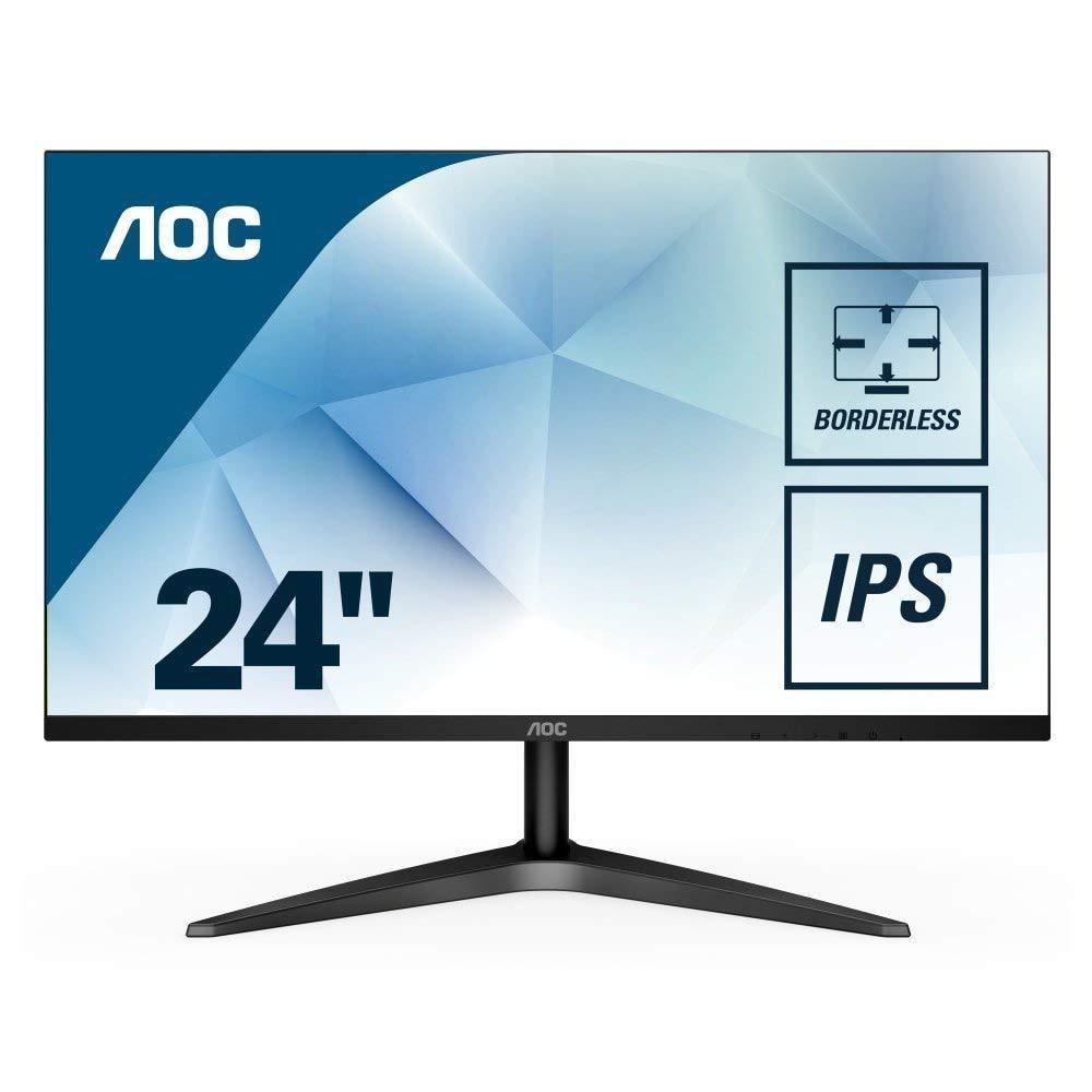 "Monitor 23.6"" AOC 24B1H, FHD 1920*1080, 60 Hz, WLED, VA, 16:9, 5 ms, 250cd/mp, 3000:1/ 20M:1, 178/17 - imaginea 2"