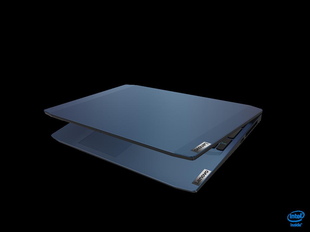 "Laptop Lenovo IdeaPad Gaming 3 15IMH05, 15.6"" FHD (1920x1080) IPS 250nits Anti-glare, 60Hz, Intel Core i5-10300H (4C / 8T, 2.5 / 4.5GHz, 8MB), video NVIDIA GeForce GTX 1650 4GB GDDR6, RAM 1x 8GB SO-DIMM DDR4- 2933, SSD 256GB SSD M.2 2242 PCIe 3.0x4 NVMe, no ODD, No Card reader, Stereo speakers, 1.5W - imaginea 12"
