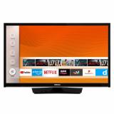 "LED TV HORIZON SMART 24HL6130H/B, 24"" Edge LED, HD Ready (720p), Digital TV-Tuner DVB-S2/T2/C, CME 200Hz, HOS 3.0 SmartTV-UI (WiFi built-in) +Netflix +AmazonAlexa +Youtube, 1xLAN (RJ45), Wireless Display, DLNA 1.5, Contrast 3000:1, 220 cd/m2, 1xCI+, 2xHDMI (v1.4), 1xUSB, 1xD-Sub (15-PIN), USB Player - imaginea 1"