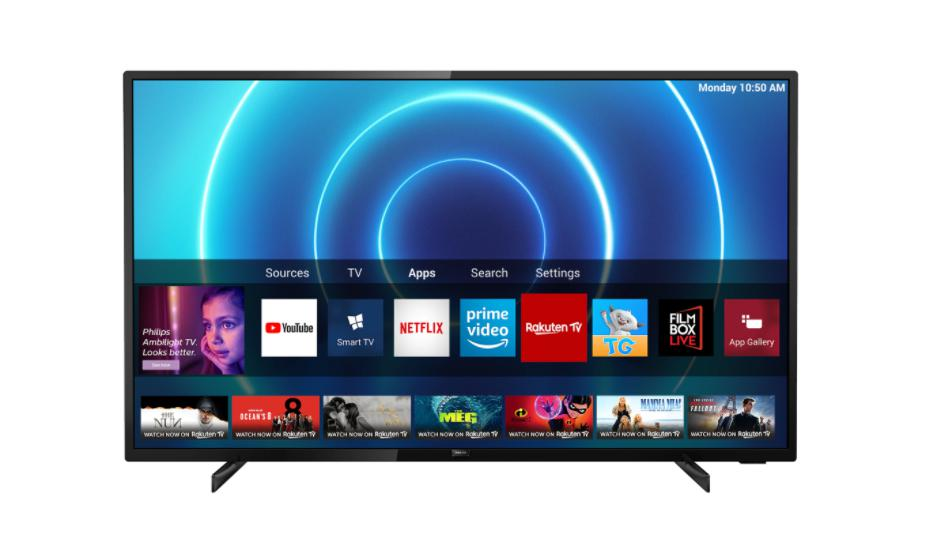 """PHILIPS 70PUS7505/12, 70"""", 178 cm, 4K Ultra HD LED, 3,840 x 2,160, 16: 9, Ultra resolution, Dolby Vision, HDR10 +, P5 Perfect Picture Engine, SimplyShare, Screen mirroring, Processing power Quad core, DVB-T / T2 / T2-HD / C / S / S2, 3*HDMI, 2*USB, WiFi 802.11n, 2 x 2, single band, CI +, Ethernet - imaginea 1"""