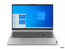 "Laptop Lenovo IdeaPad 5 15ARE05, 15.6"" FHD (1920x1080) IPS 300nits Anti- glare, 45% NTSC, AMD Ryzen 5 4600U (6C / 12T, 2.1 / 4.0GHz, 3MB L2 / 8MB L3), video Integrated AMD Radeon Graphics, RAM 8GB Soldered DDR4-3200, SSD 512GB SSD M.2 2280 PCIe 3.0x4 NVMe, no ODD, 4-in-1 Card Reader (MMC, SD, SDHC - imaginea 1"