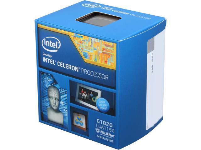 Procesor Intel Celeron G1820 2.7 GHz - imaginea 1