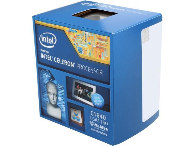 Procesor Intel Celeron G1840 2.8 GHz - imaginea 1