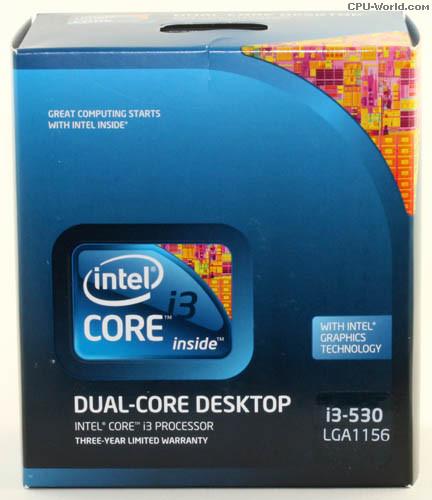Procesor Intel Core i3 530 2.9 GHz - imaginea 1
