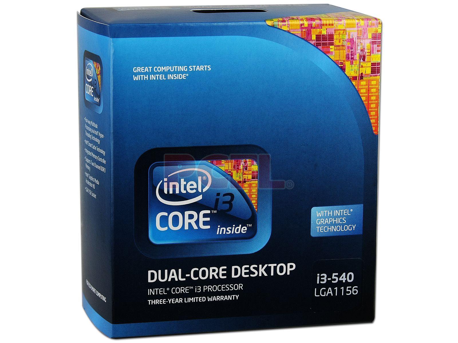 Procesor Intel Core i3 540 3.06 GHz - imaginea 1