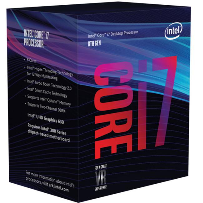 Procesor Intel Core i7 8700 3.2 GHz - imaginea 1